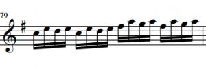 Allegro passage