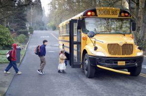School Violin Bus