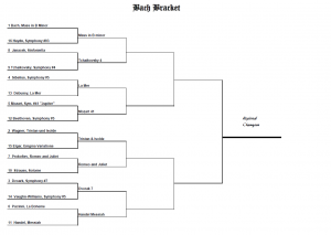 Bach Bracket Results