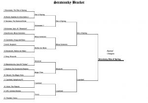 final four stravinsky
