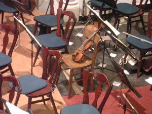 Violin wants more gigs