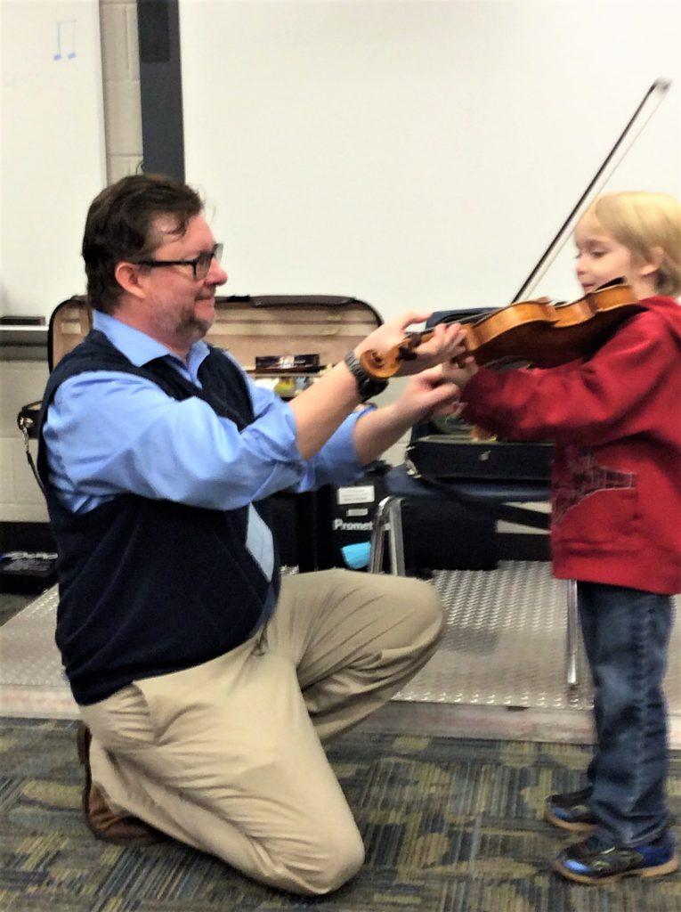 instruction violin