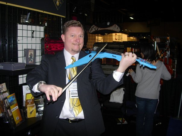 chuck g with electric violin